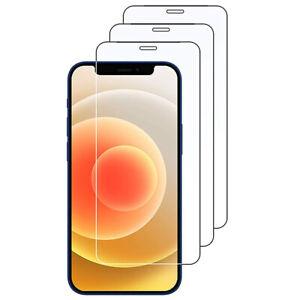 3x Panzerfolie für Apple iPhone 12 11 X XS Pro Max mini 8 7 6 Plus Schutzglas 9H