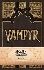 BUFFY THE VAMPIRE SLAYER VAMPYR RULED JOURNAL - INSIGHT EDITIONS (COR)/ BUONCRIS
