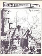 GUTS THE MAGAZINE WITH INTESTINAL FORTITUDE #5 - 1969 comics fanzine Steve Ditko