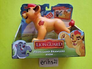 Disney The Lion Guard Pride Land Brawlers Kion Interactive Action Figure NEW