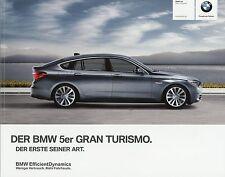 Prospekt BMW 5er Gran Turismo 2011 1 11 005 126 10 1 VB Autoprospekt Auto GT
