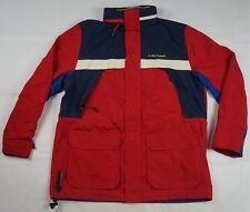 Rare Vintage TOMMY HILFIGER Performance Water Stop Spell Out Rain Jacket 90s L