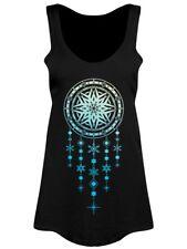 Vest Snowflake Dreamcatcher Floaty Women's Black