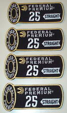4 Federal Trap Skeet 25 Straight Shooting Patches