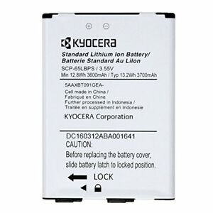 Kyocera DuraForce XD E6790 Lithium Ion Battery SCP-65LBPS 3.55V 5AAXBT091GEA OEM