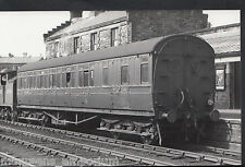 Postcard Size Railway Real Photograph - Train Carriage No E2418 NE BK - MB972