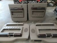 08-10 FORD F250 F350  REAR & FRONT PASSENGER & DRIVER SIDE DOOR PANELS