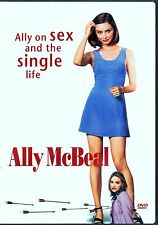 ALLY MCBEAL Ally on sex and the single life 2 DVDs Englisch Französisch 264 Min.