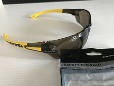 New In Packet Genuine Mack Branded Brown Lens Anti Fog Safety Glasses UV Safe