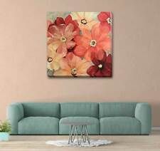 Wild Flower Floral Bloom Stretched Canvas Print Framed Wall Decor Painting F125