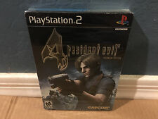Resident Evil 4: Premium Edition (Sony PlayStation 2, 2005) NEW Steelbook PS2