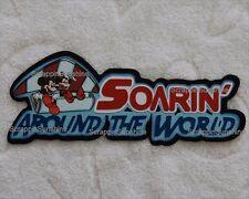 DISNEY EPCOT Soarin Around the World Die Cut Title Scrapbook Paper Piece SSFFDeb