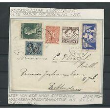 Nederland 134 MENGFRANKERING op brief Ede-Rotterdam  VFU/gebr   CV 100+ €