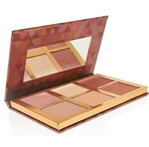 BELLAPIERRE Glowing Palette 2 Highlight Blush Illuminating Powder Shade Contour