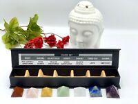 7 Chakra Pyramid Set with Beautiful Gift Box | Healing Crystals Kit | Meditation