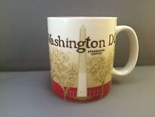 STARBUCKS COFFEE GLOBAL ICON COLLECTOR SERIES CITY MUG WASHINGTON DC 2010 16OZ