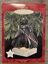 Hallmark 1997 Star Wars Darth Vader Magic Keepsake Ornament Light Voice Qxi7531