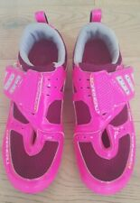 Louis Garneau Womens Tri shoes pink Size EU 39