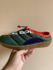 Polo Sport Myles Puffer Shoes Ralph Lauren Men's Size 9.5 Green Orange