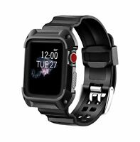Apple Watch Series 3 Rugged Protective Case 42mm Shock Resistant Durable Cover