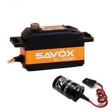 Savox SC-1252MG Low Profile Super Speed Metal Gear Digital Servo + Glitch Buster