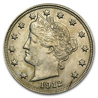 One Circulated  Liberty Head V Nickel    Assorted Dates  1883 to 1912   #LHNA