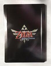 zelda skyward sword (Case Only) Collectors Case Nintendo Wii Xbox Ps3 4 Free