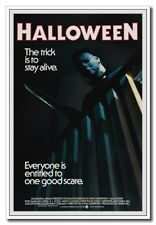 "Halloween Michael Myers With Knife 12""x8"" Horror Movie Silk Poster Hot Sale"