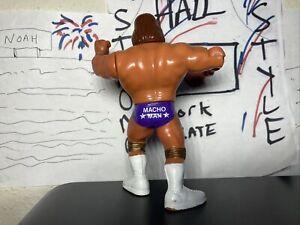 Macho MAN Randy Savage WWF HASBRO Series 3 Very NICE WRESTLING FIGURE WWE WCW