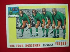 "1955 TOPPS FOOTBALL ALL-AMERICAN ""SP"" ~THE FOUR HORSEMAN~ #68"