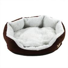 Pet Dog Nest Puppy Cat Soft Bed Fleece Warm House Kennel Plush Mat USA Sell J1P0