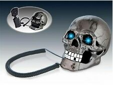 Fashion Vintage Hotel Home Jumping Eyes Skull Retro Corded TelePhone Desk Phone
