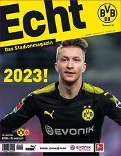 Programmheft # 140 - BVB 09 / Eintracht Frankfurt - Marco Reus -Gameday Magazine