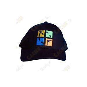 Geocaching Berretto da Baseball - Nero Con Logo groundspeak Cappello