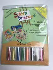Sand Designs Family Pak: Item No. Ct-491, Holiday Pak 1, 3 Pictures To Make