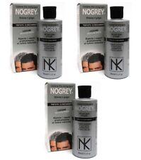 3pz NOGREY Lozione Elio Antigrigio per capelli 200ml NUOVO cura elimina  grigio 53f374f45c8b