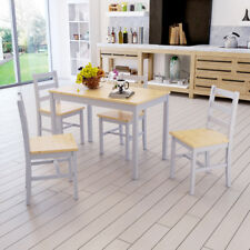 Panana Wooden Dining Table Set with 2 Chairs / 4 Chairs Set  Kitchen Furniture