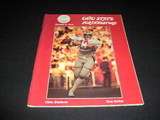 ORIGINAL OHIO STATE FOOTBALL PROGRAM VS.NORTHWESTERN  OCTOBER 6, 1979