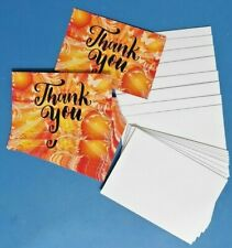Pack of 20 Thankyou Thank You Cards Postcards Note Card Notecard Mens Ladies