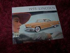 Prospectus  /  Brochure LINCOLN 1955 //