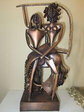 RARE Vintage Copper Art Sculpture~Hungarian Artist JAJESNICA ROBERT