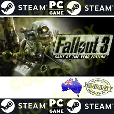 AusSeller* FALLOUT 3 GAME OF THE YEAR EDITION -PC STEAM Game DigitalCode-NoDisc