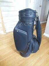 Datrek Traditional Cart/Carry Golf Bag - Black/Black