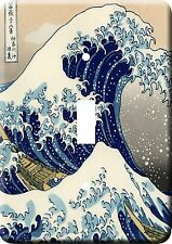 Metal Switch Light Cover  The Great Wave of Kanagawa Illustration oriental