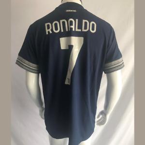 Ronaldo #7 Soccer Jersey Juventus 2020-2021 Away Football Serie A Men's Shirt US
