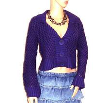 Women's Medium Knit Long Sleeve Button Wool Blend Jumpers & Cardigans