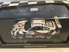 Minichamps 1:43 Porsche 911 GT3 RS  24h Le Mans 2004 Limitiert  NEU/OVP
