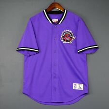 100% Authentic Toronto Raptors Mitchell & Ness Mesh Jersey Size L 44 - carter