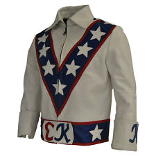 Evie Knievel Leather Jacket Evel Knievel / American Star Motorcycle jacket