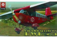 ZTS PLASTYK S052 1/72 RWD-5 Sport aircraft